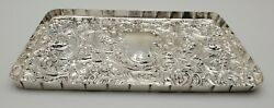 William Comyns And Sons Ltd Sterling Silver Large Rectangle Dressing Tray