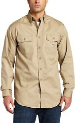 Men's Big And Tall Flame Resistant Classic Twill Shirt