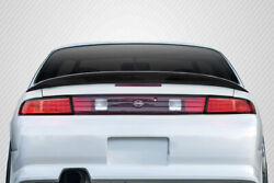 For 95-98 Nissan 240sx S14 Carbon Fiber Supercool Wing 115562