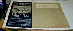 1937 Delta Manufacturing Co. Quality Tools, Pictorial Cover-metered Mail
