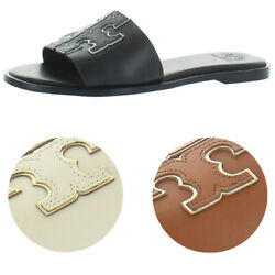 Womenand039s Ines Slide Leather Cushioned Sandals