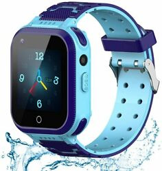 Kids Smart Watch 4g Wifi Gps Lbs Tracker Sos Emergency Call Video Chat...