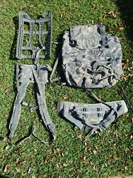 Molle Ii Acu Large Rucksack Field Pack Complete W/ Frame Us Military W/free Gear