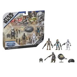 Star Wars Mission Fleet Mandalorian Defend The Child Figure 5-pack - In Stock