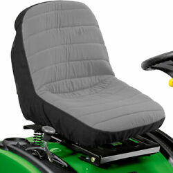 New Lawn Mower Tractor And Gator Seat Cover Padded Chair Cushion Universal Fitment
