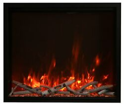 Amantii Trd 44andprime Traditional Series Electric Fireplace
