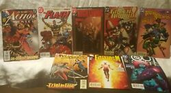 Lot Of 8 Misc 2005 Dc Comic Books Action, Flash, Night Wing, Green Arrow, Etc