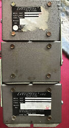 Executone Model Ps12a 120v Power Supply Lot Of 3 W/ Cables - As Is Untested