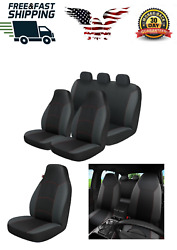 Black Seat Car Cover Protect Baby Infant Waterproof Dustproof Fit All Easy Clean