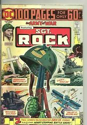 Our Army At War 275 Feature Sgt Rock Dec 1974 100 Pages Vg/fine Nice Copy