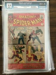 Amazing Spiderman #4 1963 Grade 2.5
