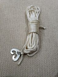 New England Ropes Double Braided Dock/anchor Line 3/8 X 40and039 Forty Scissor.