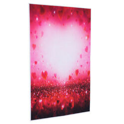 Valentine#x27;s Day Heart Wall Tapestry Hangings Tapestry Background Cloth