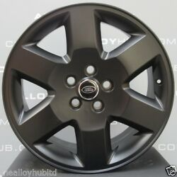 Genuine Oem Land Rover Discovery 4/3 Hse 19inch Black/silver Alloy Wheel Set X4