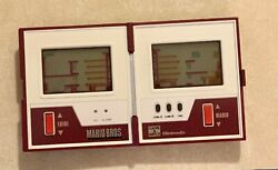 Nintendo Game And Watch Mario Bros Mw-56 Mario Brothers Left Right Multi Screen