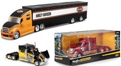 Maisto Rally Rigs And Custom Haulers 164 Die Cast Lorries Trucks Tractor Units