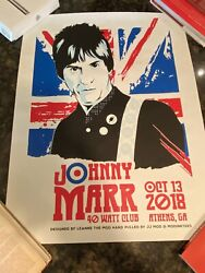Johnny Marr Poster The Smiths Morrissey Radiohead Nirvana Bowie Athens Ga Rem