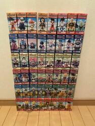 Dragon Ball Z Dwc World Collectible Figure Vol 1-6 Complete Set Of 48 Ginew
