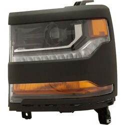 Hid Headlight Lamp Left Hand Side For Chevy Hid/xenon Driver Lh 84064061