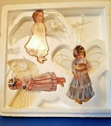 Vintage Bradford Editions Heavens Little Angels Ornament Collection