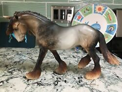 Breyer CM Othello Mulberry Gray By Montecello Studios Stunning Excellent Cond.