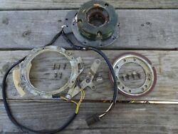 Evinrude Johnson 7.5 Hp Stator Assy. Retainer And Link Assy And Support. Armatureandnbsp