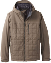Prana Menand039s Size Large Zion Quilted Jacket Mud