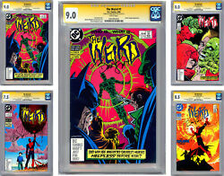 The Weird 1234 Cgc-ss 9.0-7.5-8.0-8.5 Signed Bernie Wrightson Cover And Art 1988