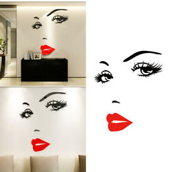 Detachable Wall Sticker Eye Bedroom Decoration Removable Self Adhesive