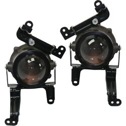 Pair Fog Lights Lamps Set Of 2 Front Left-and-right 92202a9110, 92201a9110