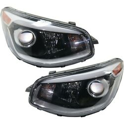 Headlights Lamps Set Of 2 Left And Right 92102b2750 92101b2750 Lh And Rh Pair