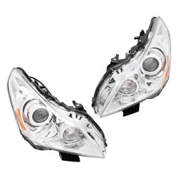 Pair Set Of 2 Hid Headlights Lamps Left-and-right Hid/xenon Lh And Rh For G37 G25