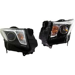 Pair Headlights Lamps Set Of 2 Left-and-right 23236366, 23236365 Coupe Sedan