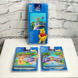 Disney Winnie The Pooh Removable Self Stick Wall Border amp; Wall Decals NEW