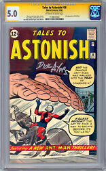 Tales To Astonish 36 Cgc-ss 5.0 Signed By Marvel Legend Artist Dick Ayers 1962
