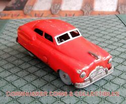 1950's Rare Pressmobile Tin Wind Up Car Alps Japan In Working Condition 👀