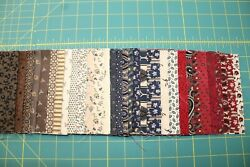 47 Tavern Collection Reproduction 5 Squares Charm Pack Quilt Fabric Marcus
