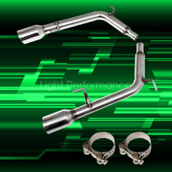 Fits Infiniti G35 G37 Sedan 2007-2013 Stainless Steel Axle Back Exhaust Polished