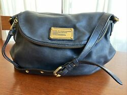 Marc Jacobs Classic Q Natasha Black Crossbody Handbag $50.00