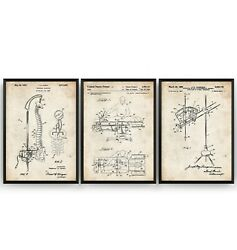 Chiropractor Set Of 3 Patent Prints - Chiropractic Poster Art Gift - Unframed