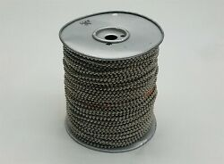 Usa Made 10 Size 50-51 Steel Ball Chain Spool Nickel Plated 500ft 500and039 New