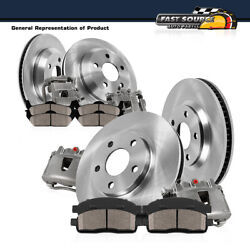 For Chevy S10 Gmc Jimmy Sonoma Front And Rear Oe Brake Calipers And Rotors And Pads