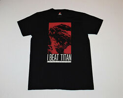 Final Fantasy Xiv Battle Challenge And039beat Titanand039 Video Game Shirt Size Large New