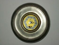 1930s The Lux Clock Co. Heartbeat Miniature Clock Face Insert Only No Body