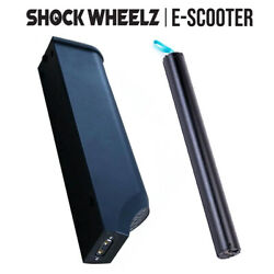 Shock Wheelz Rechargeable Batteries Electric Scooter E-scooter Spare Battery