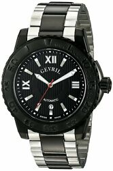 Gevril Menand039s Watch 3110b Seacloud Two-tone Stainless Steel Unidirectional Bezel