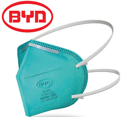 Byd N95 Particulate Respirator Protective Disposable Fold Face Mask Niosh Aprvd