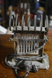 Rare Antique 1915 Universal Electric Toaster With Toast Rack On Top