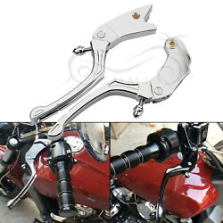 2pcs Cnc Hand Controls Brake Clutch Levers For Indian Scout Sixty 16-19 Chrome