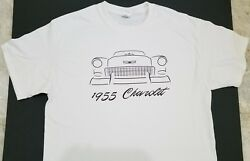 Brand New 1955 Chevy T-shirt Chevrolet 55 Tri-five 56 57 Hot Rod Custom Sketch @
